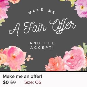 Other - Make me a fair offer